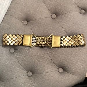 BGBG gold metal belt